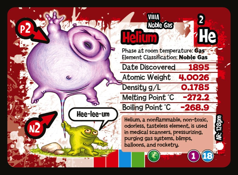 Noble gases from the periodic table as depicted in periodyx the helium from periodyx the game urtaz Gallery